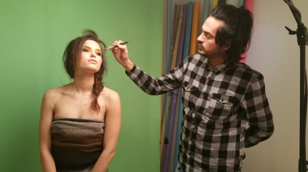 fotoshoot backstage